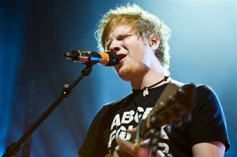 Ed Sheeran For Brit Awards Charity Gig