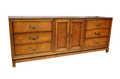 wooden credenza gorgeous founders mid century burled wood