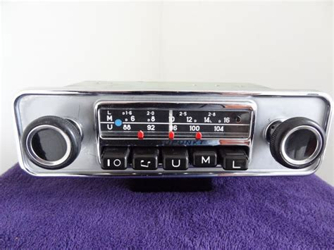 Classic Car Radio Blaupunkt Type Mannheim 1960s