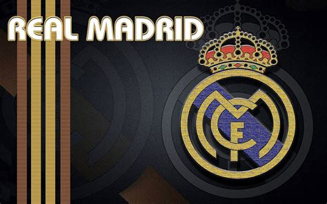 real madrid fc logo hd wallpapers