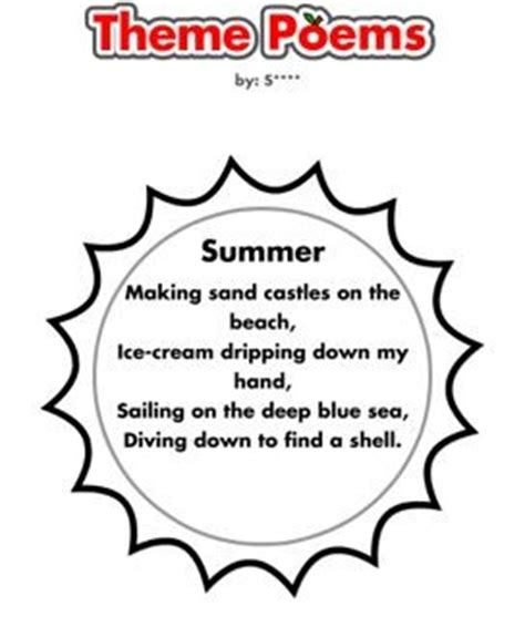 summer quotes and poems quotesgram 818   737193179 summer theme poem