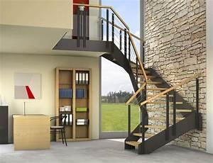Stahltreppe Mit Holzstufen : arcus treppen stahltreppen treppen aus holz und stahl ~ Michelbontemps.com Haus und Dekorationen