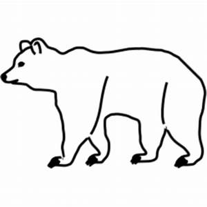 Standing Bear Outline   Clipart Panda - Free Clipart Images