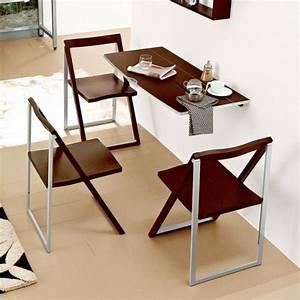 designs creatifs de table pliante de cuisine With table de cuisine etroite