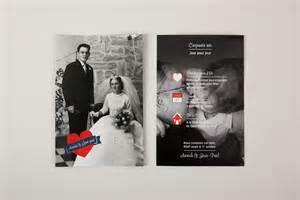 invitation 50 ans de mariage mariage carte invitation 50 ans mariage