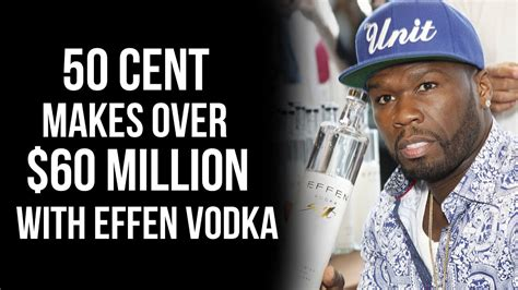 50 Cent Sells His Stake In Effen Vodka For Over
