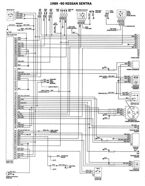 nissan 1986 93 diagramas esquemas ubicacion de componentes mecanica automotriz