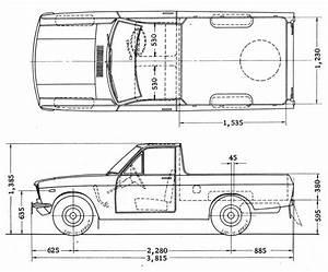 Dimension Ute  U202a  U200esunny U202c Shortub Datsun1200