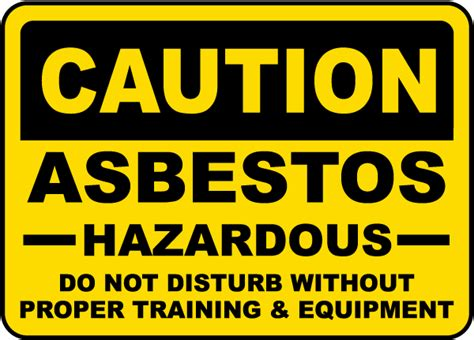 asbestos exposure   workplace reduce  risk