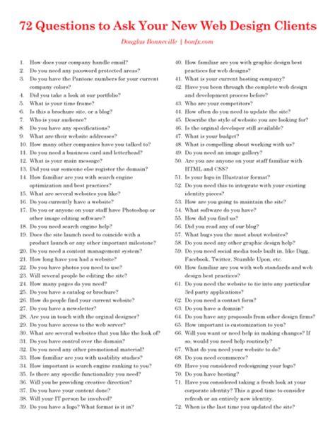 graphic design questionnaire  clients graphic design