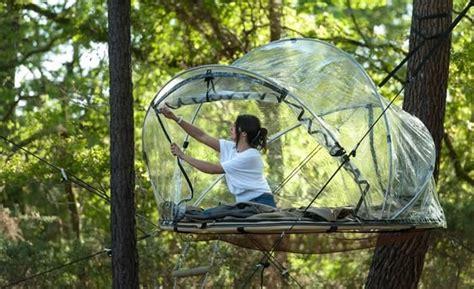 chambre d hote dans les landes bulle dans les arbres bretagne week insolite nuit en