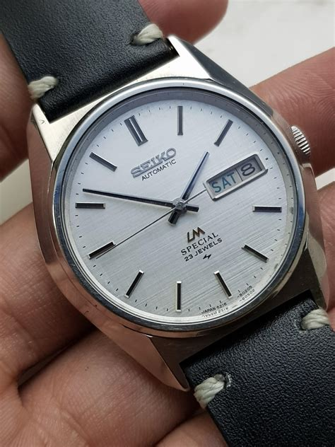 Lourenço marques, pearl of the indian ocean, mozambique. WTS Seiko LM Special 5216-8020 Linen Dial Hi-beat ...