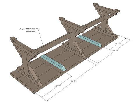 Farmhouse Bench Woodworking Plans  Woodshop Plans