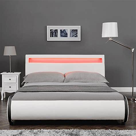 """Quando bisogna cambiare le doghe del letto? Corium® Letto imbottito Valencia"""" con illuminazione LED ..."""