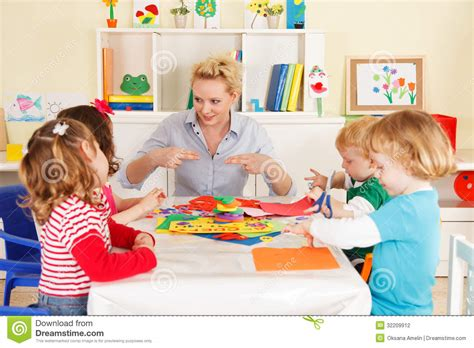 scholastic preschool pre school children in the classroom with the 743