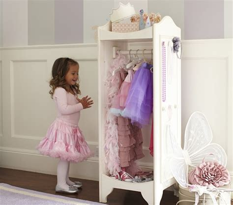 toddler dress up closet vanity dress up storage pottery barn