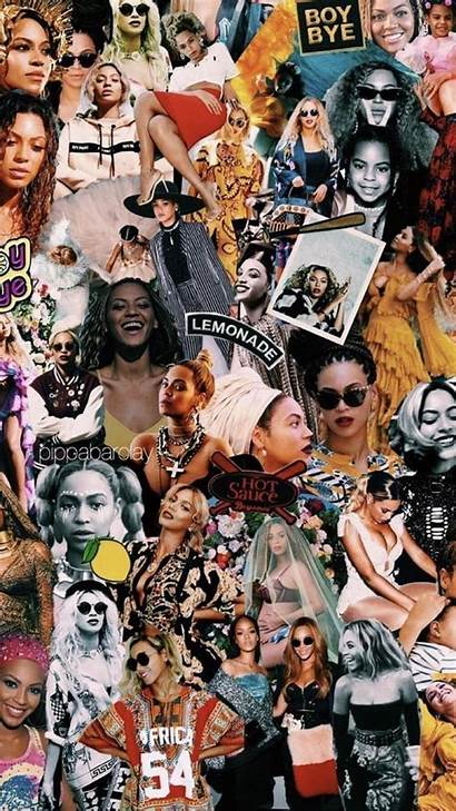 Collage Wallpapers Celebrity Aesthetic Beyonce Mood Backgrounds