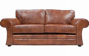 Cavan real leather sofa bed uk handmade quick delivery for Leather sofa bed