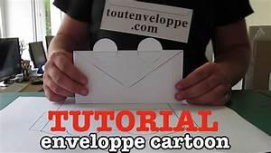 Comment Fabriquer Une Enveloppe : comment faire une enveloppe en papier cartoon youtube ~ Melissatoandfro.com Idées de Décoration