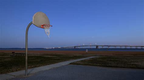 hd hintergrundbilder basketball korb ring spielplatz