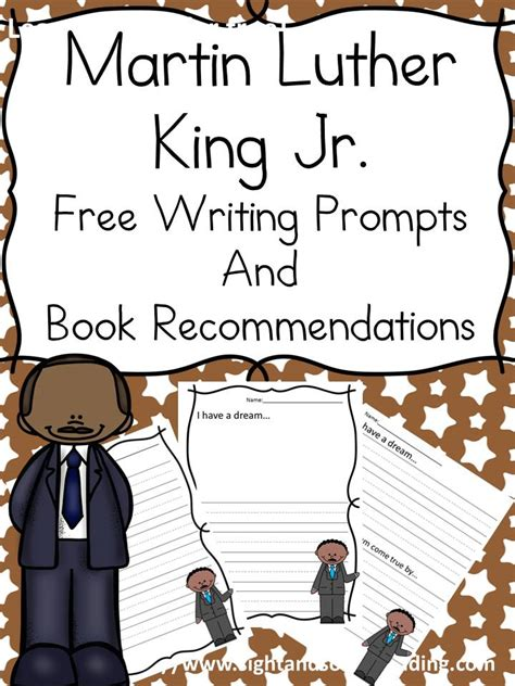 martin luther king day lesson   writing prompt