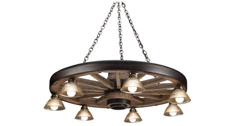 discontinued discounted large wagon wheel chandelier