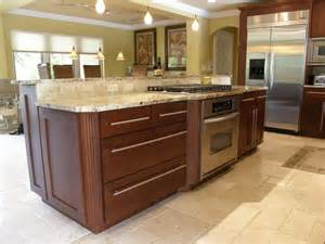 Kitchen Island Stove Transitional Kitchen Contemporary Kitchen Miami By Allied Kitchen Bath Home And