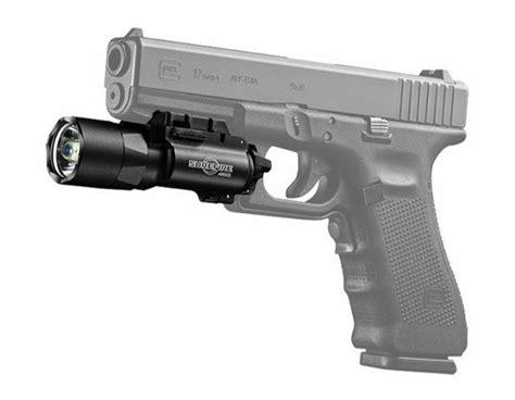 surefire pistol light surefire x300u a led weaponlight 600 lumens rail lock