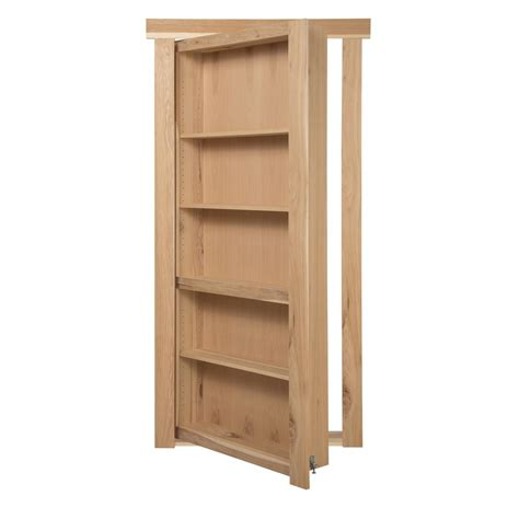 Murphy Bookcase by The Murphy Door 28 In X 80 In Assembled Unfinished