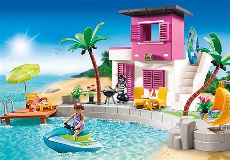 Playmobil Set 5636usa  Luxury Beach House Klickypedia