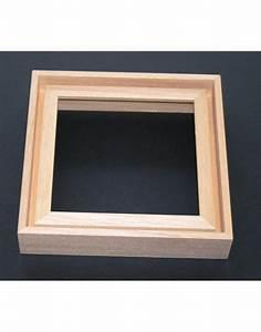Cadre Photo Profond : cadre profond effet caisse 2 coloris ouest encadrement ~ Teatrodelosmanantiales.com Idées de Décoration