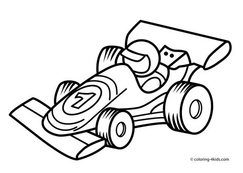 racing car transportation coloring pages  kids