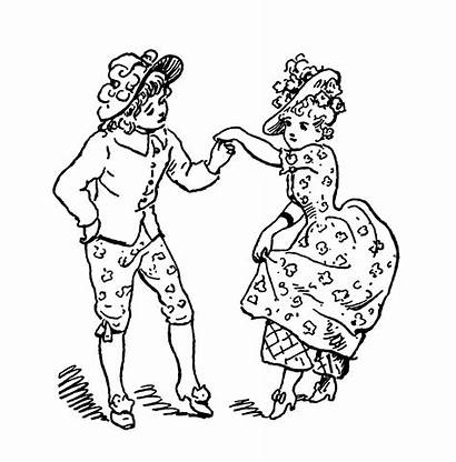 Minuet Coloring Printable Fairy Graphics Pages Dancing