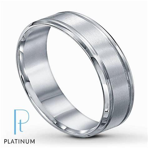 15 Collection Of Men Platinum Wedding Bands
