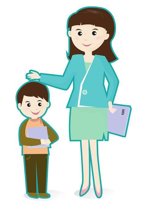 12397 student helping student clipart image enseignant et 233 l 232 ve dessin 29473