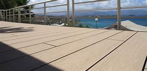 Lame Composite Pour Terrasse : 5 lames de terrasse en composite effet bois ~ Melissatoandfro.com Idées de Décoration