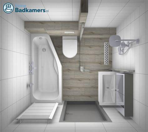 kleine badkamer indeling voorbeelden complete houtlook badkamer kleine badkamers
