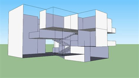 Modern House Layout by Modern House Layout Starter Kit 3d Warehouse