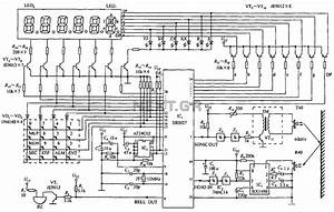 ultrasonic circuit page 2 audio circuits nextgr With sonic range finder schematic