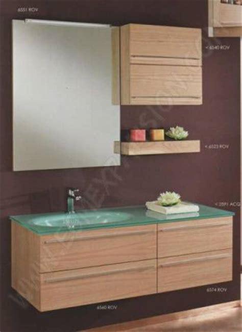 meuble bas salle de bain avec vasque a poser