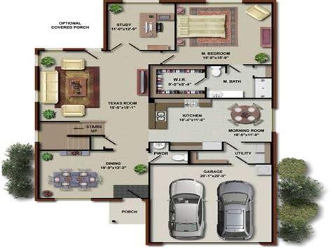 bedroom house floor plans  house floor plans houses
