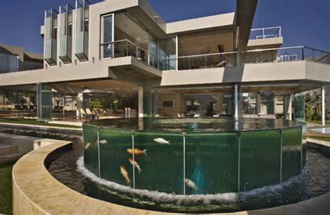 glass house   square foot modern mega mansion  johannesburg south africa homes