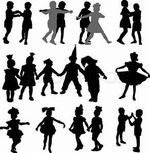Dancing Kids Silhouette | www.pixshark.com - Images ...