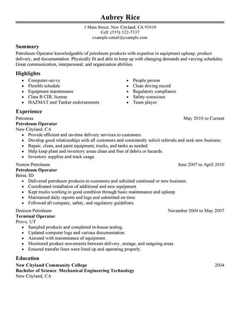 Heavy Equipment Operator Skills Resume by Pin By Free Resume Templates Free Sle Resume Tempalates