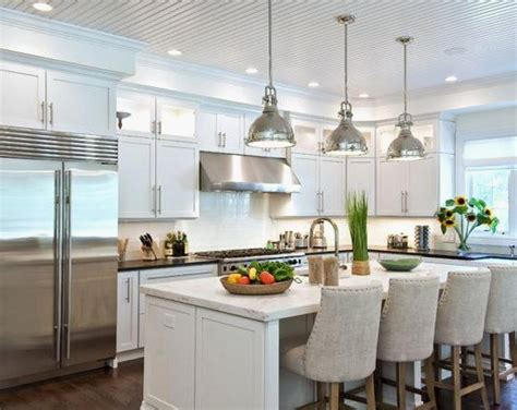 white kitchen pendant lights new kitchen island spacing gl kitchen design 1396