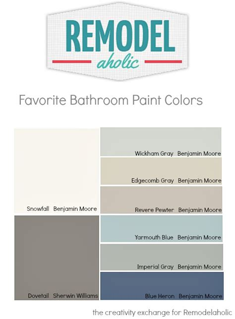 Popular Bathroom Paint Colors 2014 by Remodelaholic Tips And Tricks For Choosing Bathroom
