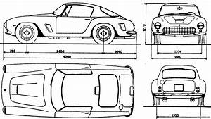 Ferrari 250 Gt Berlinetta 1960 Plans