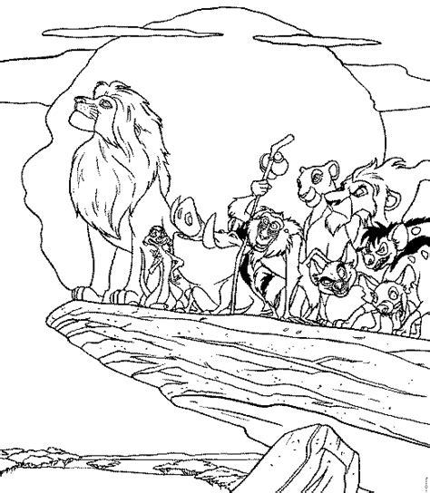 disegni da colorare disney re il re disegni da colorare gratis il re