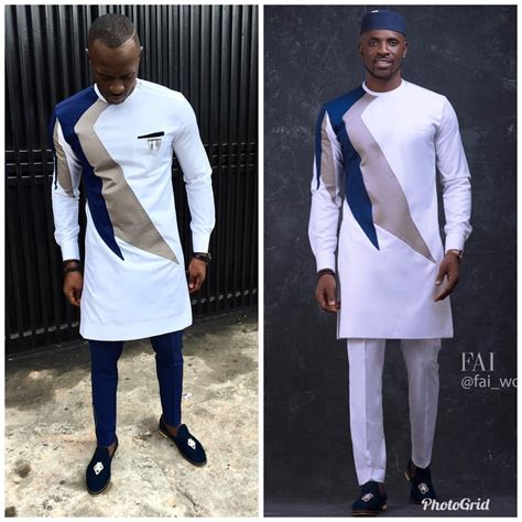 Wow Check Out These Nigerian Native Wear Designs For Men