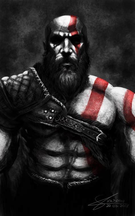 Kratos God Of War 4 By Koldoom Games Characters